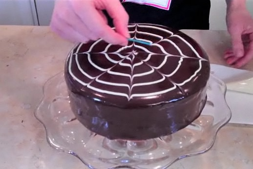 Learn how to make a gorgeous poured chocolate ganache cake in this My Cake School video tutorial!
