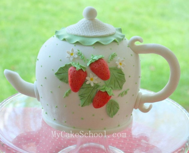 Teapot Cake- Cake Video Tutorial