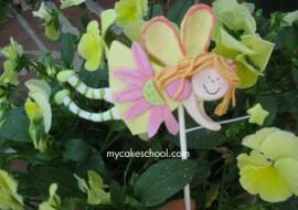 Sweet Flying Fairy -Member Video Tutorial from MyCakeSchool.com!