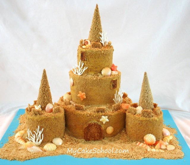 Sandcastle Cake Video