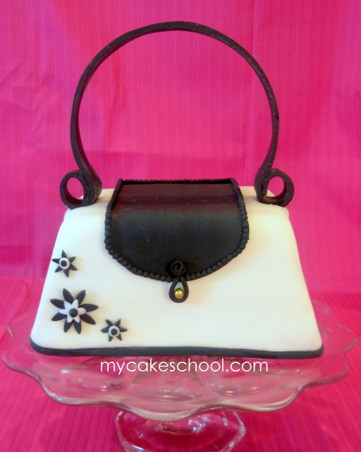 Learn to Make a Purse Cake in this MyCakeSchool.com Video.