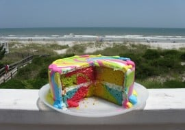 Learn How to Make a Tie Dye Cake in this MyCakeSchool.com Video.