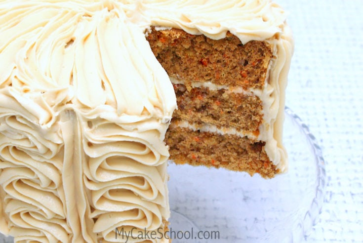 Carrot Cake ~Doctored Mix Recipe