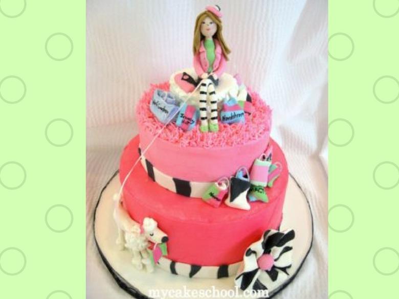 Shopping Cake Video Tutorial by MyCakeSchool.com