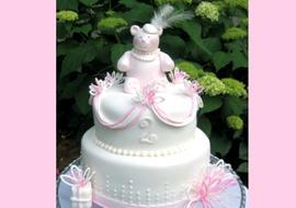 Teddy Bear Birthday Cake Video Tutorial by MyCakeSchool.com