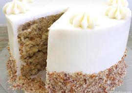 DELICIOUS Italian Cream Cake Recipe by MyCakeSchool.com! Online Cake Tutorials, Videos,  & Recipes