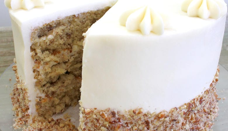Italian Cream Cake~Scratch Recipe