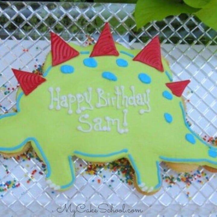 Dinosaur Cupcake Cake My Cake School