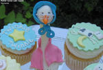Mother Goose Cake Topper Tutorial