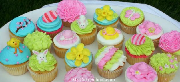 Springtime & Easter CupcakesIMG_1757