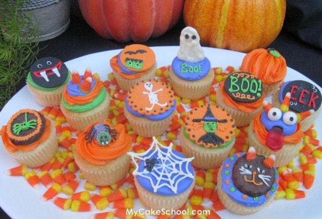 Ghoulish Goodies!- Halloween Cupcake Tutorial!