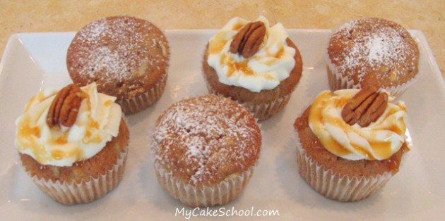 Apple Spiced Cupcakes