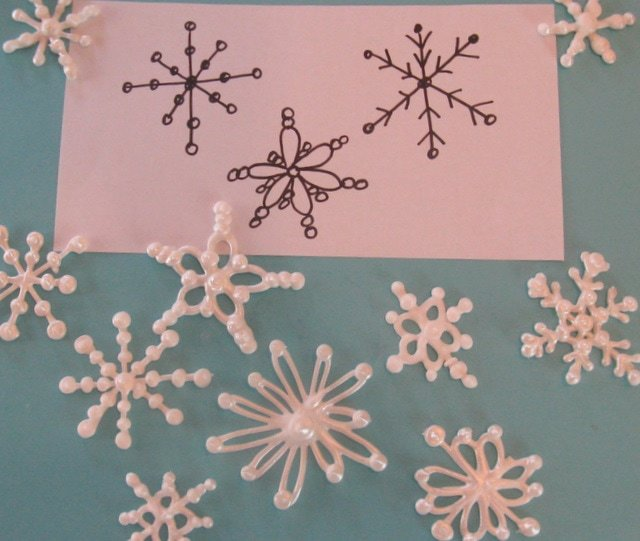 How To Make Royal Icing Snowflakes My Cake School