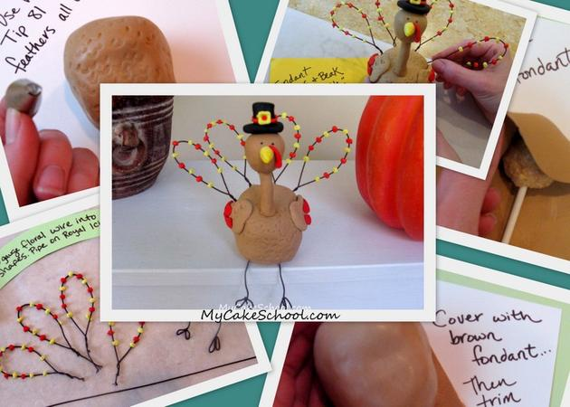 How to Make a Turkey Topper~Blog Tutorial!