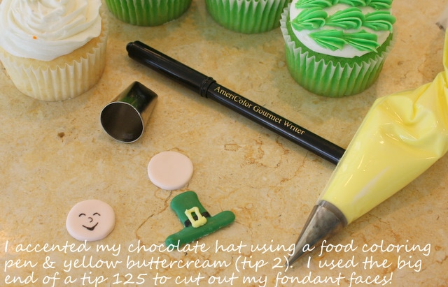 Fun and Simple St. Patrick's Day Cupcake Tutorial by MyCakeSchool.com!