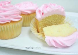 Delicious White Cake Recipe {Doctored Mix} by MyCakeSchool.com