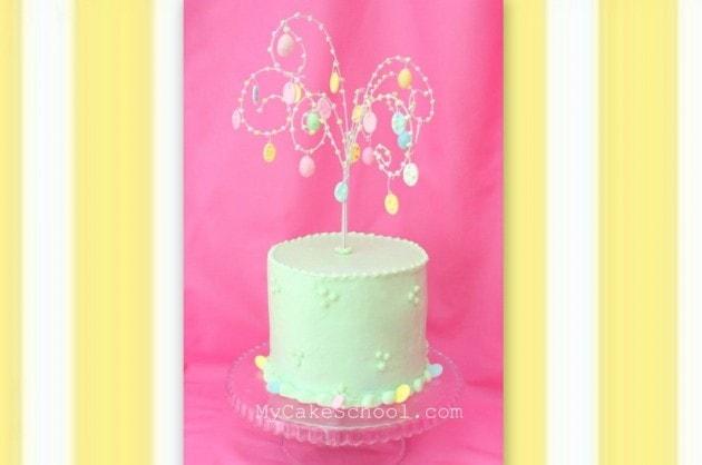 Easter Tree Cake!- Blog Tutorial