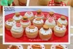Cookout Cupcakes!  MyCakeSchool.com