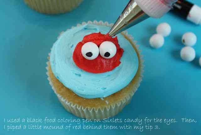 CUTE Beach Cupcake Tutorial by MyCakeSchool.com! Perfect for beach parties and pool parties!