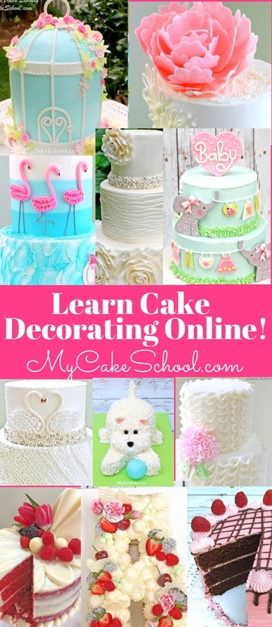 Learn Cake Decorating Online! MyCakeSchool.com