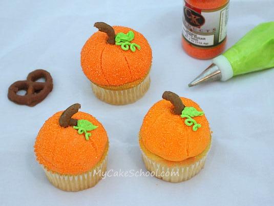 Halloween Cupcake Tutorial My Cake School