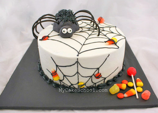 How To Make A Spider Cake Topper