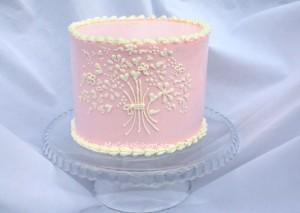 Swiss Meringue Cake-MyCakeSchool.com