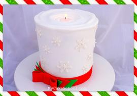 Learn to make a realistic candle cake in this My Cake School video tutorial!