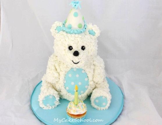 Teddy Bear Cake-Video Tutorial- Member Section