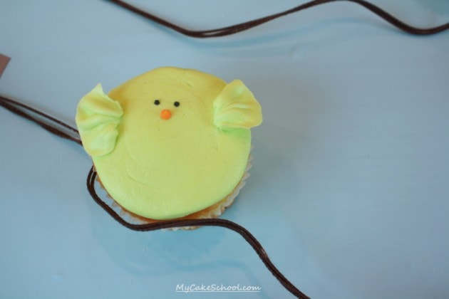 CUTE Buttercream Bird Cupcake Tutorial by MyCakeSchool.com!