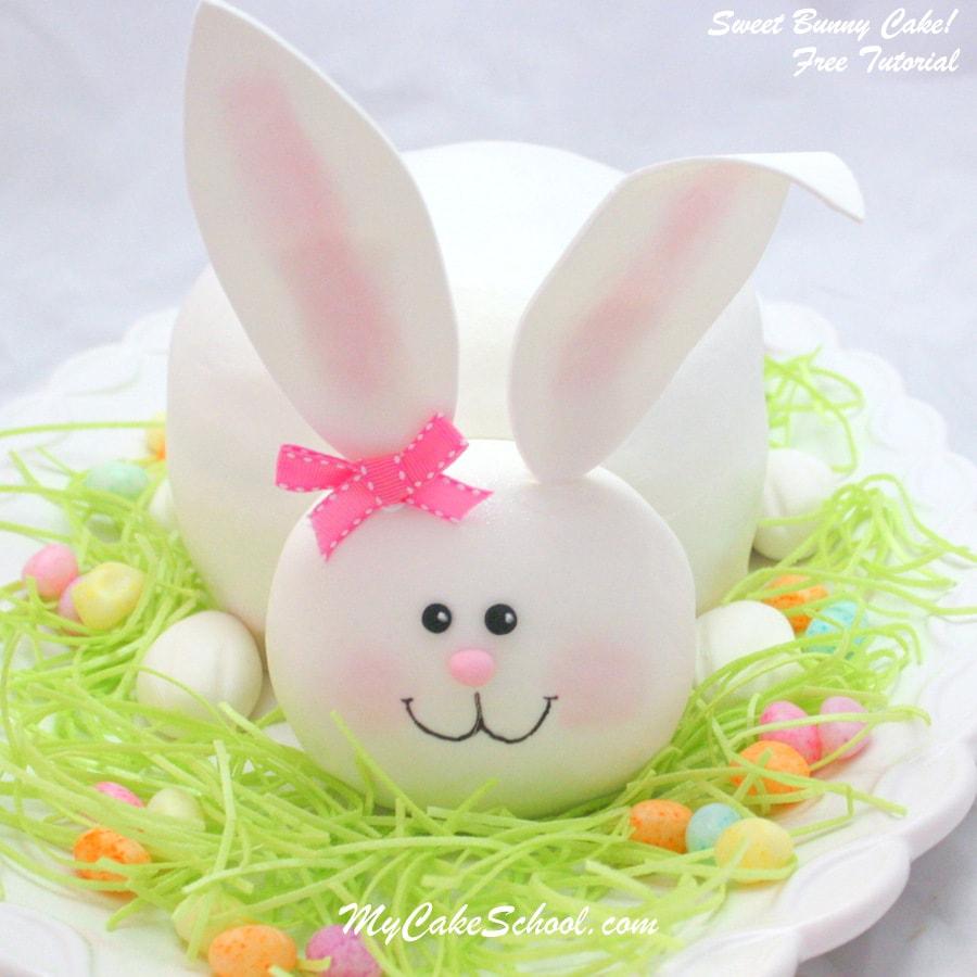 Bunny Cake Pops Tutorial