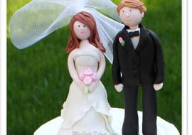 Learn to Create a Bride and Groom Cake Topper from Gum Paste in this MyCakeSchool.com video tutorial!
