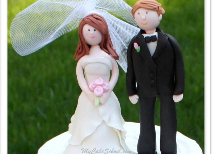 How to Make a Bride and Groom Topper- Video Tutorial