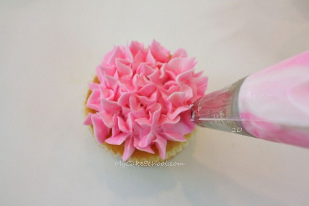 Learn how to make a gorgeous Buttercream Flower Bouquet as well as how to pipe buttercream flowers in this free tutorial by MyCakeSchool.com!