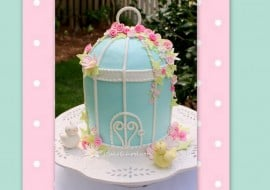 Learn to make a Beautiful Birdcage Cake in this My Cake School Cake Decorating Video Tutorial!