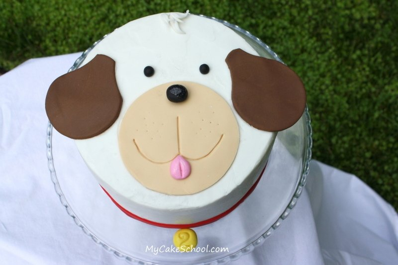 Puppy Dog Cake Design : Puppy Cake~ A Blog Tutorial My Cake School