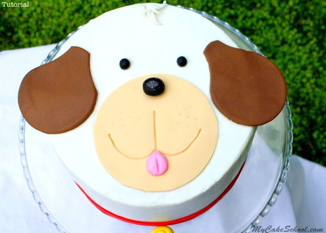 Puppy Cake~ A Blog Tutorial