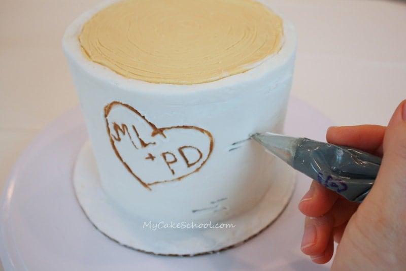 Woodland Cake A Blog Tutorial