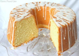 The BEST Classic Pound Cake Recipe by MyCakeSchool.com! This is a southern favorite! So simple to make, moist, and flavorful! MyCakeSchool.com Online Cake Tutorials, Cake Recipes, and More!