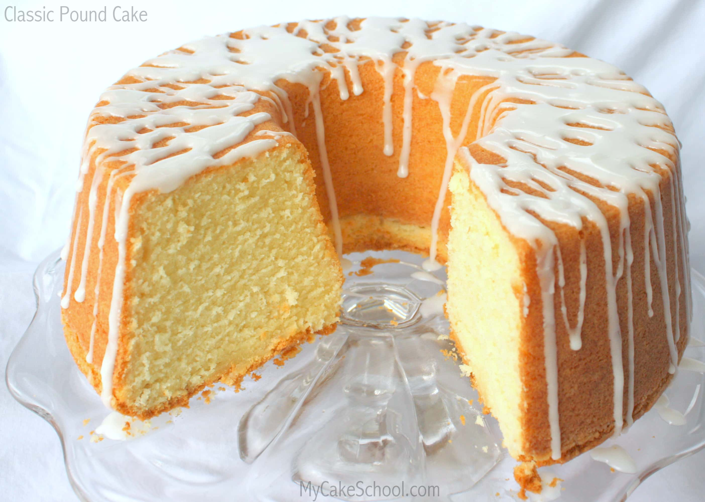 Easy Pound Cake For  Inch Pan