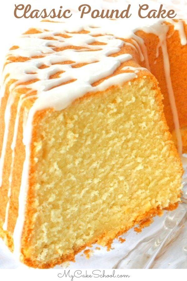 Moist and Delicious Classic Pound Cake Recipe