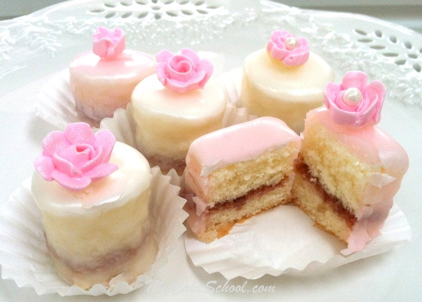 Perfect Petit Four Glaze Recipe by MyCakeSchool.com