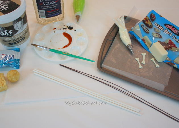 Witches Cauldron Cake Tutorial by MyCakeSchool.com! Free Tutorial- This cake is PERFECT for Halloween parties!