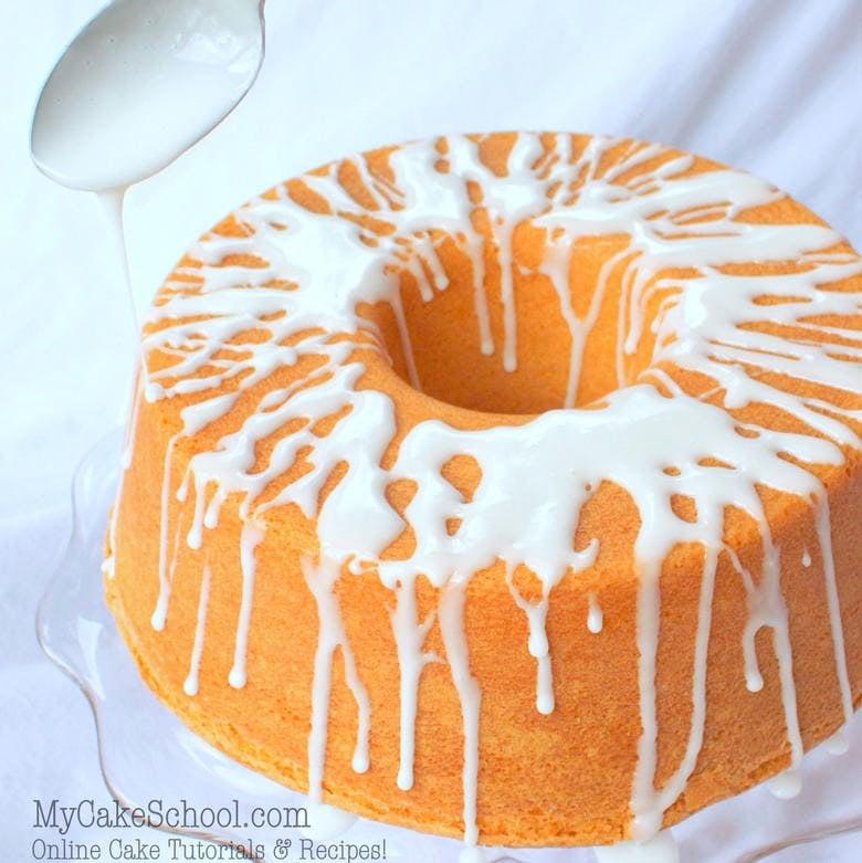 Simple Vanilla Glaze for Pound Cakes