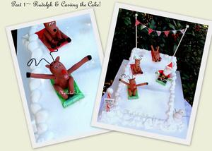 reindeer-sledding