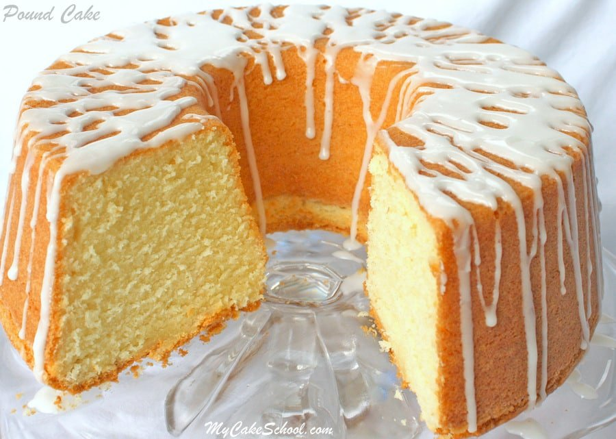 Deliciously Moist and Flavorful Classic Pound Cake Recipe by MyCakeSchool.com