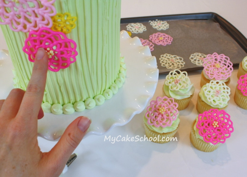 Springtime Flowers in Chocolate!~ A Cake Decorating Blog ...