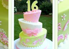 Topsy Turvy Cake Tutorial by MyCakeSchool.com!