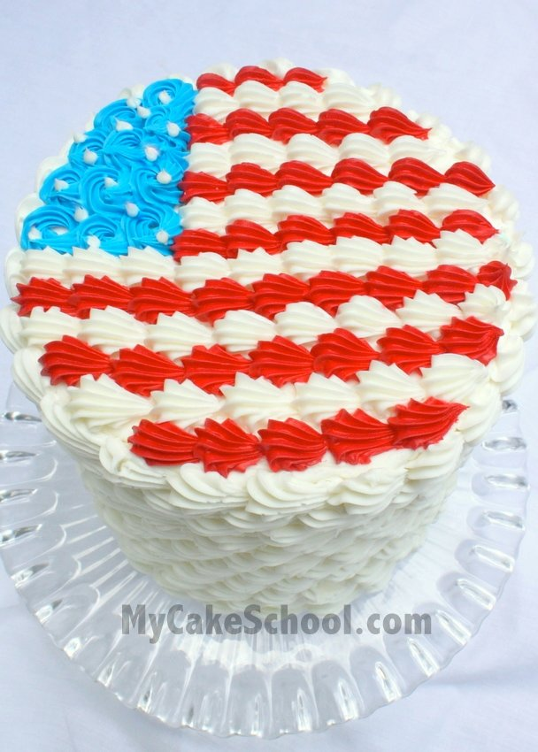 Cupcake Decorating Ideas For 4th Of July : Adorable Fourth of July Cake & Cupcake Ideas!~ Tutorial ...