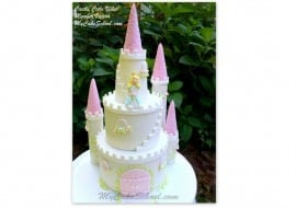 Gorgeous Castle Cake Tutorial by MyCakeSchool.com! Cake Decorating Videos & Recipes!